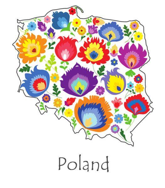 folklorystyczna mapa Polski
