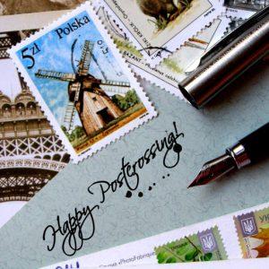 pocztówka - happy postcrossing!